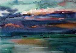 Seascape Watercolour